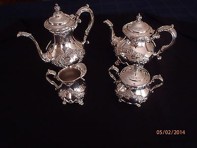 Gorham Buttercup Tea Set Plated Version Mint