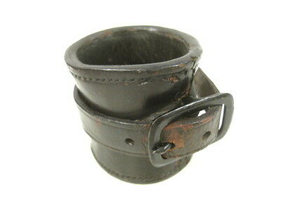 Civil War Era US Army Model 1833 Leather Socket for Cavalry Carbines - Marked #2