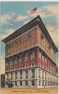 (EZ39) 1916 USA postcard Missouri athletic club