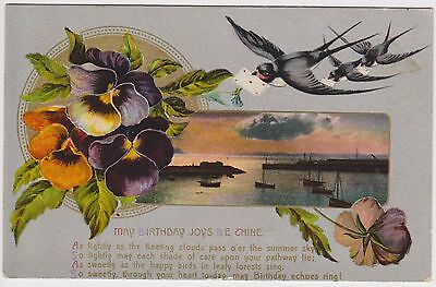 (EZ58) 1910 GB postcard birthday