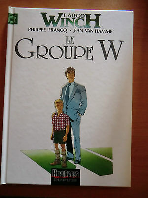 bd Largo Winch - le groupe W - dupuis 1991 - comme neuf -