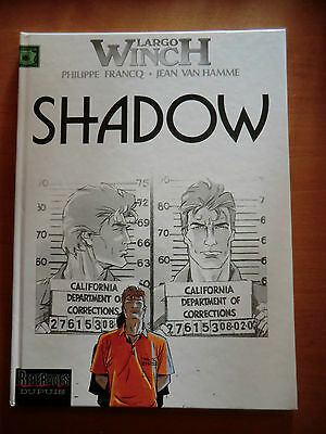 bd Largo Winch - Shadow - Dupuis 2002- comme neuf -