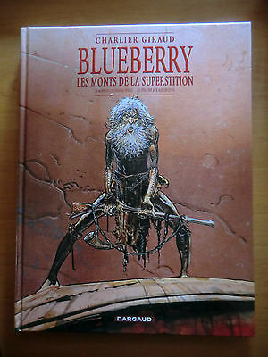 bd Blueberry - les monts de la superstition - Dargaud 2003 - comme neuf -