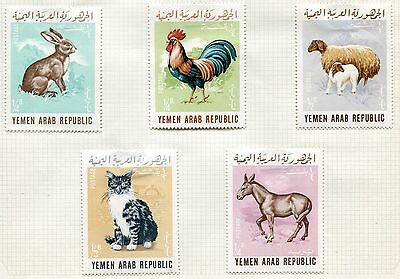 Lot Serie Timbre  Emirats  Animaux