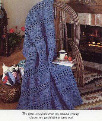 Dazzling Diamonds Afghan Vanna New Crochet Pattern 100 Picclick