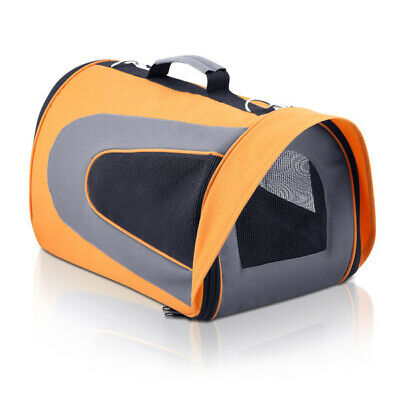 Pet Carrier Dog Cat Soft Crate Cage Kennel Portable Foldable Travel Bag Large