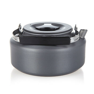 1.1L Outdoor Camping Hiking Picnic Cooking Water Kettle Teapot Coffee UK Stock