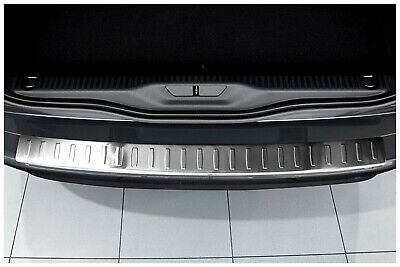 Stainless Steel Boot Edge Protector compatible with Citroen C4 Picasso 2 II