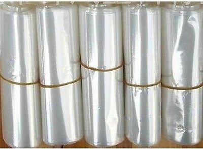 New 100pcs 15cm * 25cm Polyolefin POF Shrink Wrap Bag for cell phone box package