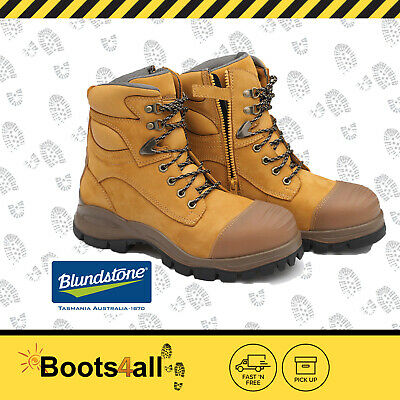 Blundstone Work Boots Safety Steel Toe Zip Lace Up 992 30 Day Comfort Guarantee