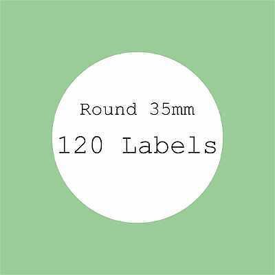 5 A4 SHEETS BLANK LABELS ROUND SQUARE OVAL STICKERS RECTANGLE CIRCLE STICKER diy