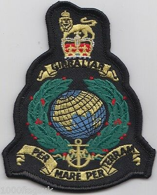 Royal Marines Corps RM Royal Navy - OFFICIAL Embroidered Patch Badge