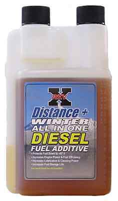 REV-X RevX Oil 8oz. Distance+ Winter Diesel Fuel Additive Diesel Powerstroke