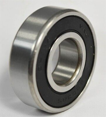 6202-2RS C3 Premium Sealed Ball Bearing, 15x35x11mm (Qty. 2)