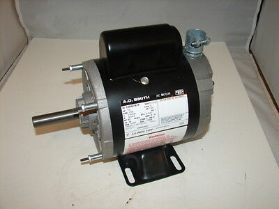 A.o. Smith C48A01A19 106663.0001 1/3Hp 115/230V 1750Rpm Ac Motor 5/8 Shaft *nnb*