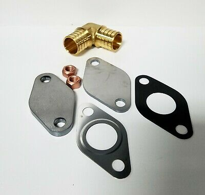 Fits Nissan 300ZX EGR Delete Block Off Plates with Fel-Pro Gaskets