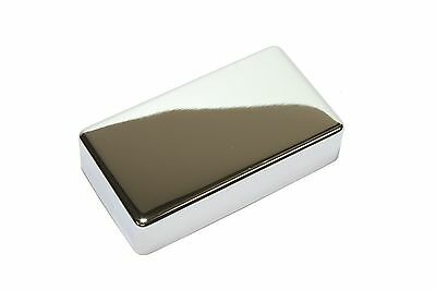 Humbucker Pickup cover Chrome plated nickel silver with NO HOLES