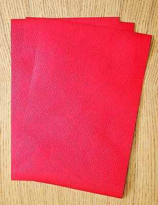 LEATHER PIECES OF SHEEPSKIN CRAFT PACK 4 @ 20CM X 15CM BASIL GREEN 0.8-1 MM