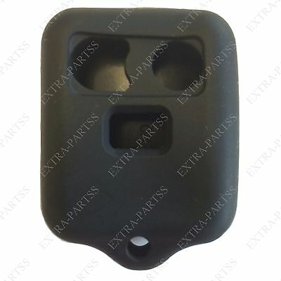 New Black Keyless Remote Key Car Fob Case Skin Jacket Cover Protector 3 Button