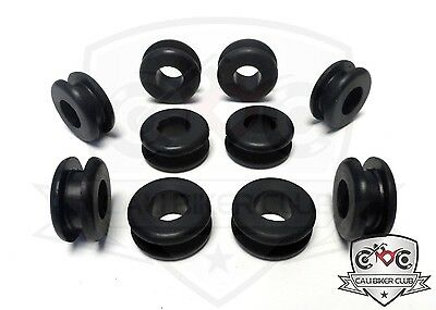 Rubber Grommets for Motorcycle Fairings Set of 10 Yamaha Honda Kawasaki Suzuki