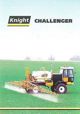 Knight Challenger Self-Propelled Sprayers Brochure