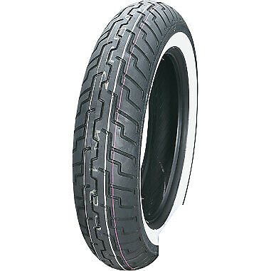 Dunlop D404 Series Front 140/80-17 Wide White Wall Motorcycle Tire