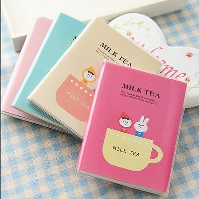 """Milk Tea"" Mini Pocket Planner Notebook Cute Diary Tiny Memo Journal Free Note"