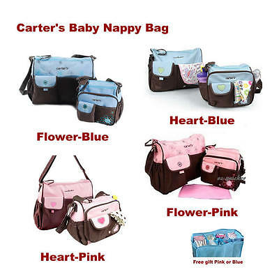 3 in 1 Carter 's Baby Changing  Nappy Diaper Mummy Bag Handbag  2 Colour