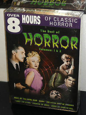 The Best of Horror - Vols. 1 & 2 (DVD) 2-Disc Set! Peter Cushing, Vincent Price,