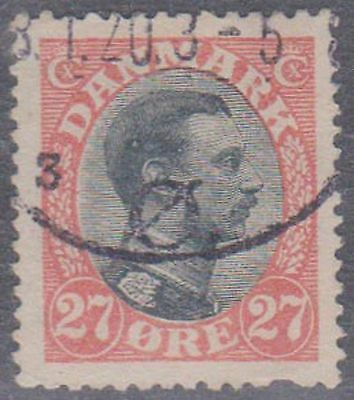 (Q1-39) 1913 Denmark 27 ORGE brown &red