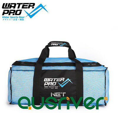 Men's Women's Water Pro Snorkeling Gear Bag Equipment Bag Nylon 130L Blue Pink