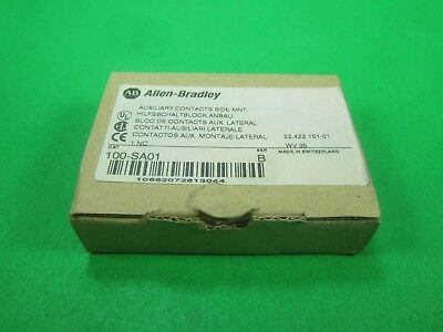 ALLEN BRADLEY -- 100-SA01 SER. B -- Auxiliary Contacts Side MNT.