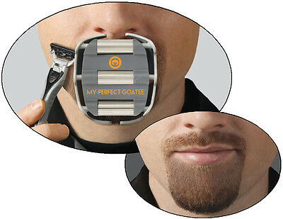 The Perfect Goatee - Men's Shaving Template from GoateeSaver