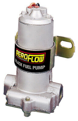 Aeroflow Electric Black Fuel Pump - Carby 140GPH Holley Carburetor AF49-1010
