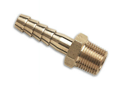 """Brass Male Bspt Hose Tail Fittings - 1/8"""" To 2"""" - Water, Fuel, Gas, Oil"""