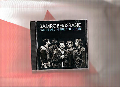 Sam Roberts Band - We're All In This Together DJ CD single