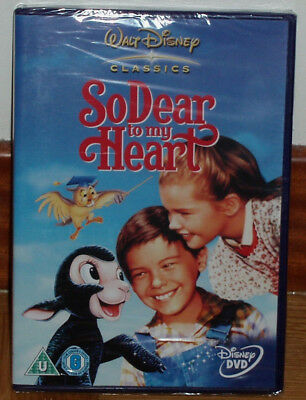 Danny So Dear To My Heart Dvd Disney Nuevo Precintado Castellano (Sin Abrir) R2