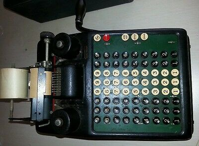BURROUGHS PORTABLE 1920s ADDING MACHINE pre-calculator ACCOUNTING parts restore