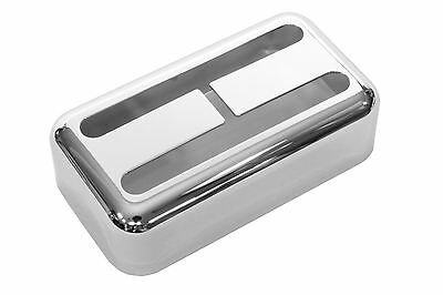 Humbucker size Filtertron® pickup cover Chrome plated fits Lollartron