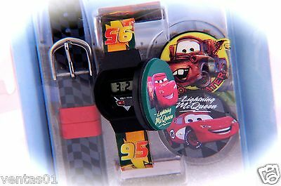 Lightning McQueen LCD Watch Cards Piston Cup Champion Disney