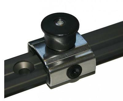 """S STEEL CAR Nautos 91423 FOR 25MM/"""" T /""""TRACK WITH STOP AND 39 MM CLASSIC BLOCK"""