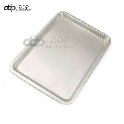 """Mayo Tray 10.75"""" X 14.50"""" X .75"""" Surgical Instruments"""