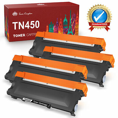 4PK High Yield for Brother TN450 Toner Cartridge MFC-7860DW 7360N HL-2240 2270DW