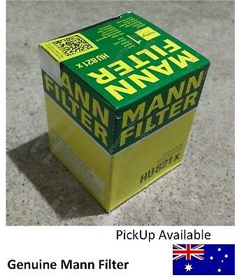 Genuine Mann HU821x Premium Oil Filter for MERCEDES BENZ & Jeep, Ryco ref R2623P