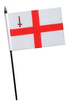 camping or caravanning Great for festivals City Of London Flag 5 x 3 ft