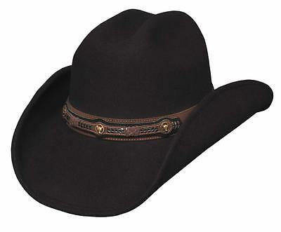 cd0a7a11f75 NEW Bullhide Hats 0555Ch Run A Muck Collection Runaway Chocolate Cowboy Hat