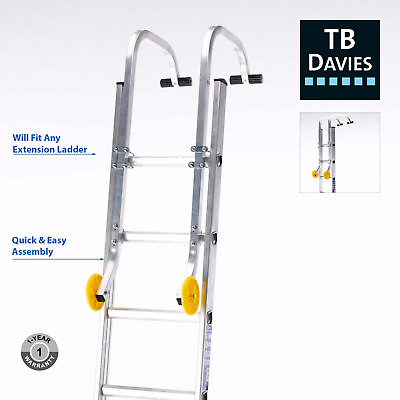 TB Davies Roof Hook Kit For Extension Ladders | Quick Fit, Inc. Wheels & Fixing