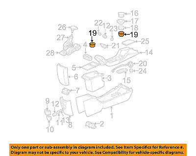 Chevrolet GM OEM 00-05 Monte Carlo Front Console-Cup Holder 10291950