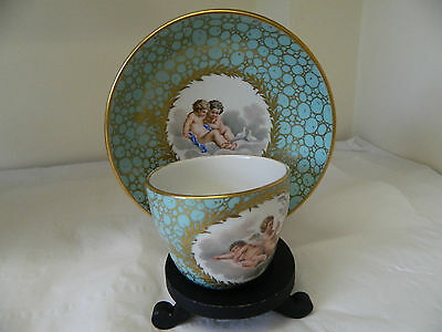 Very Rare 18 th Century Meissen Marcolini Cabinet Cup & Saucer