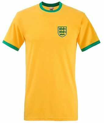 England World Cup T-Shirt Brazil 2014 SMALL CREST Mens
